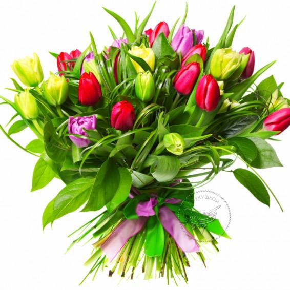Букет тюльпанов «Воздушный»