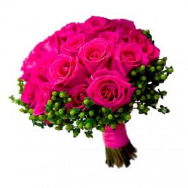 """Букет невесты """"Hot pink"""""""