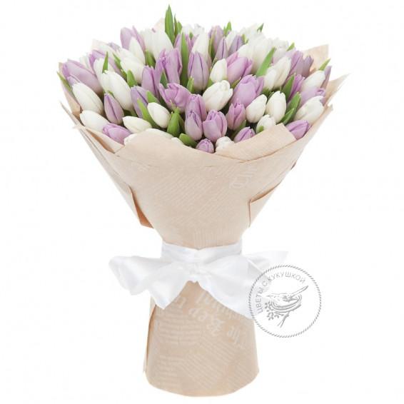 Букет тюльпанов «Дуэт»