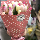 Букет «Тюльпановая нежность»
