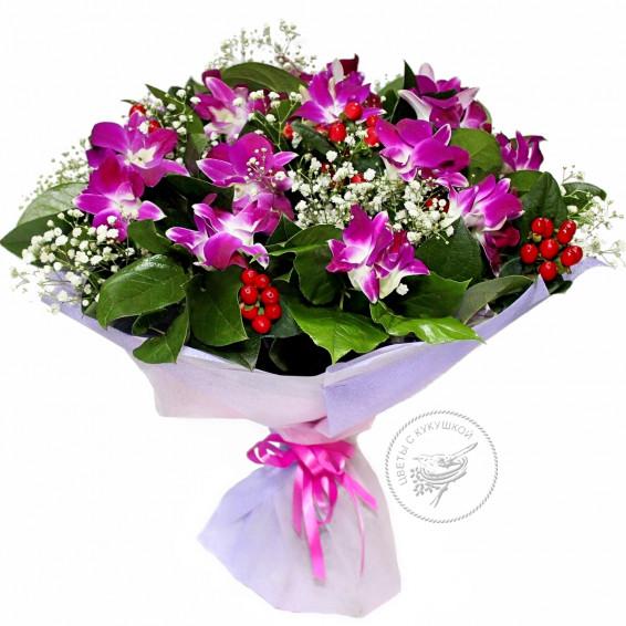 Букет «Дикая орхидея»