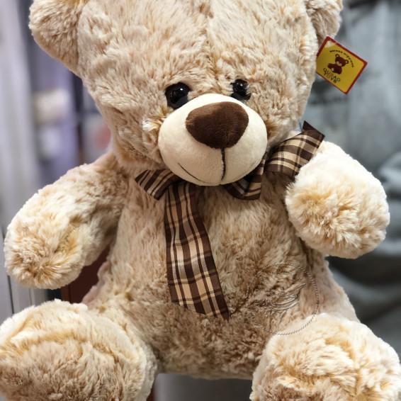 Медведь Топтыжкин бежевый (30 см)