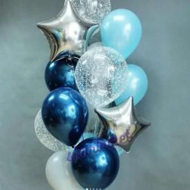 Набор «Праздничный» из 15 шаров