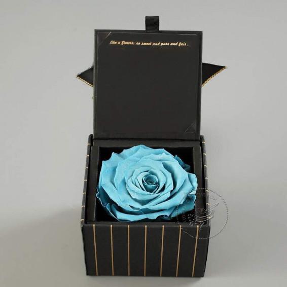 Вечная роза в коробке Тиффани